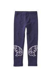 Tea Collection Winged Cozy Leggings - Front full body