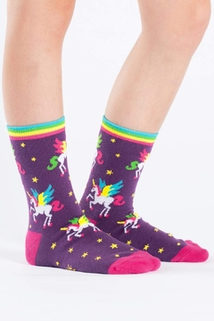 Sock it to me Winging It Crew Socks - Product List Image