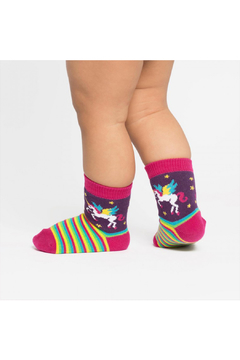 Sock it to me Winging It Toddler Crew Socks - Product List Image