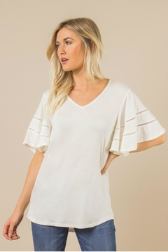 Simply Noelle Winging It Top - Product List Image