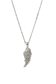 Baggis Accesorios Wings Rodhium Necklace - Product Mini Image