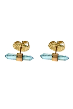 Wings Hawai'i Aqua Aura Studs - Alternate List Image