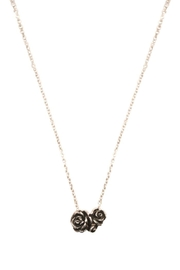 Wings Hawai'i Grey Rose Bouquet Necklace - Product Mini Image