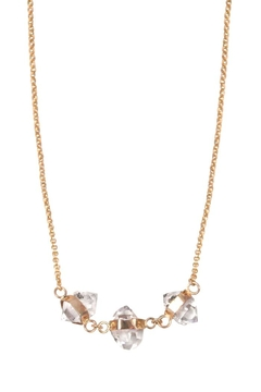 Wings Hawai'i Triple Herkimer Necklace - Product List Image