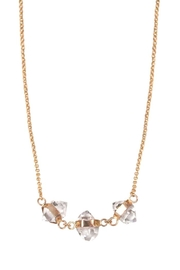 Wings Hawai'i Triple Herkimer Necklace - Product Mini Image