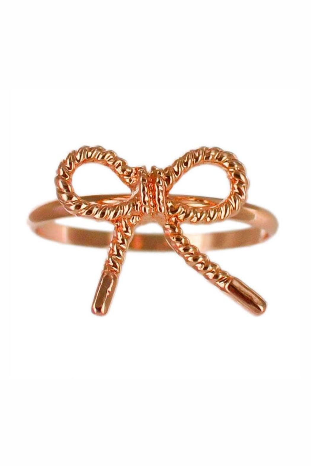 Winky Designs Cute Bow Ring - Front Cropped Image