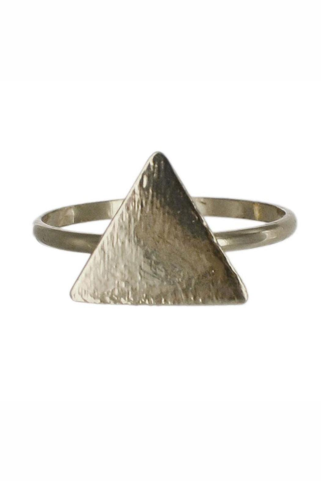 Winky Designs Cute Triangle Ring - Main Image