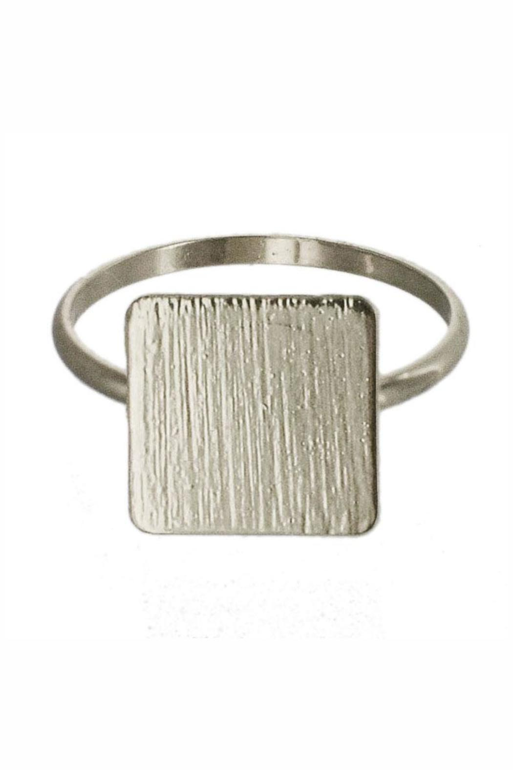 Winky Designs Dainty Square Ring - Front Cropped Image