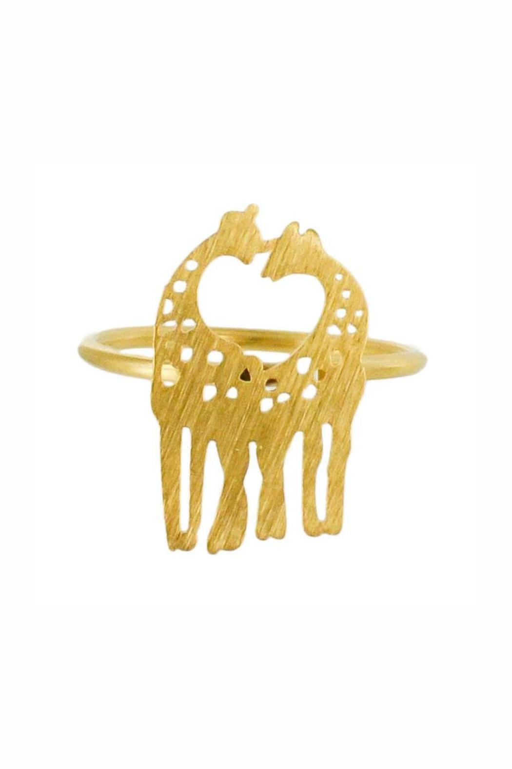 Winky Designs Giraffes-In-Love Ring - Main Image