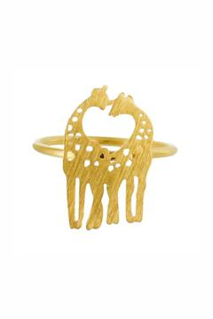 Shoptiques Product: Giraffes-In-Love Ring