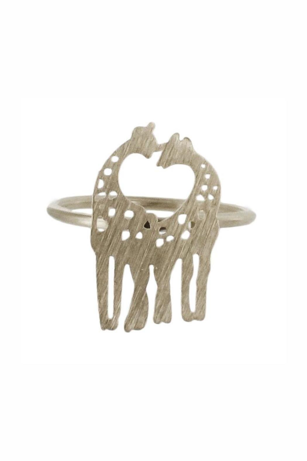 Winky Designs Giraffes-In-Love Ring - Front Cropped Image