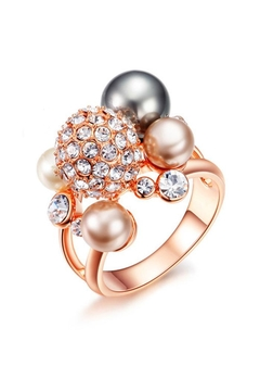 Shoptiques Product: Glam Pearl Ring