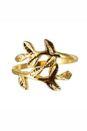 Winky Designs Stackable Laurel-Leaf Ring - Product Mini Image