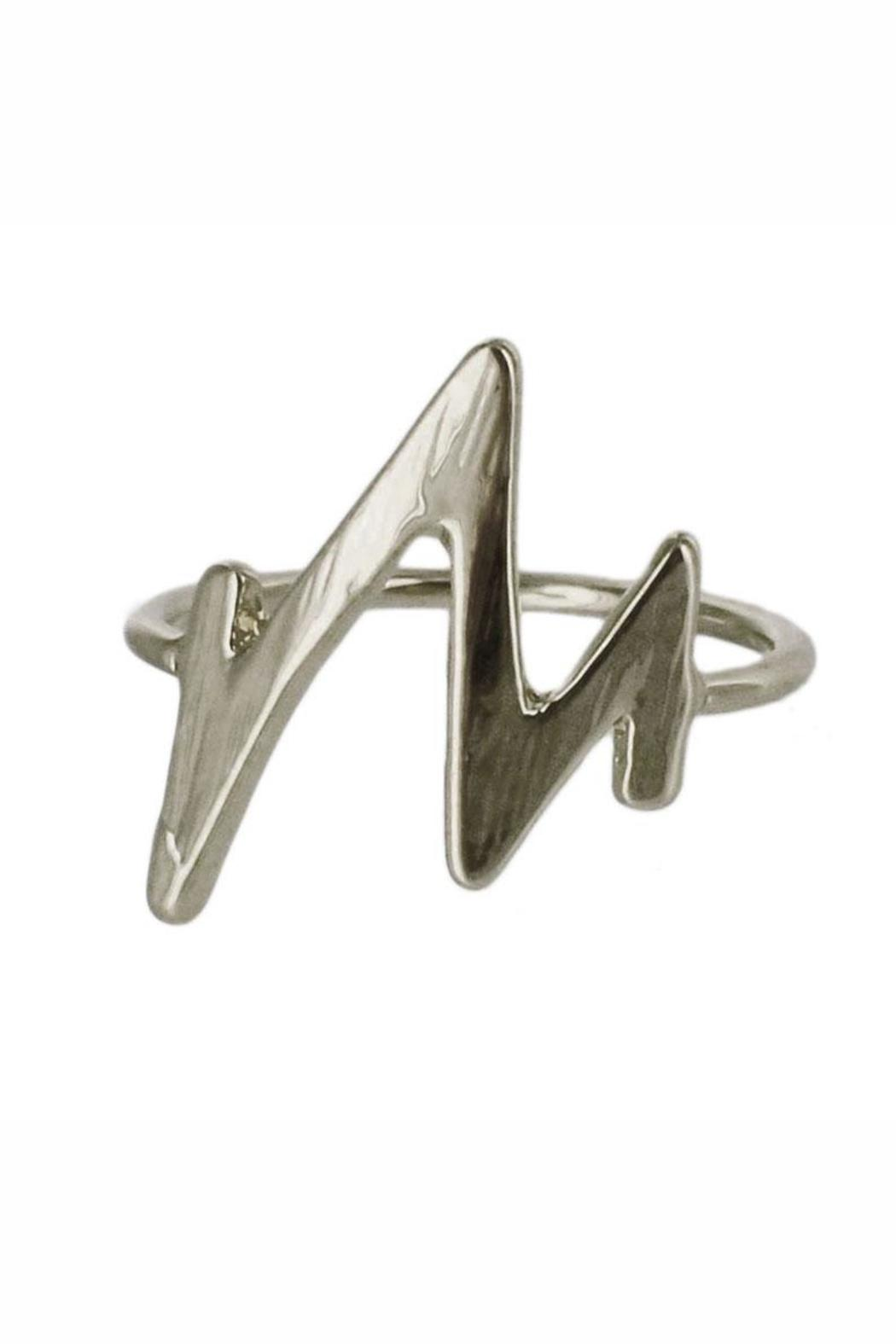 Winky Designs Lightning Knuckle Ring - Front Cropped Image