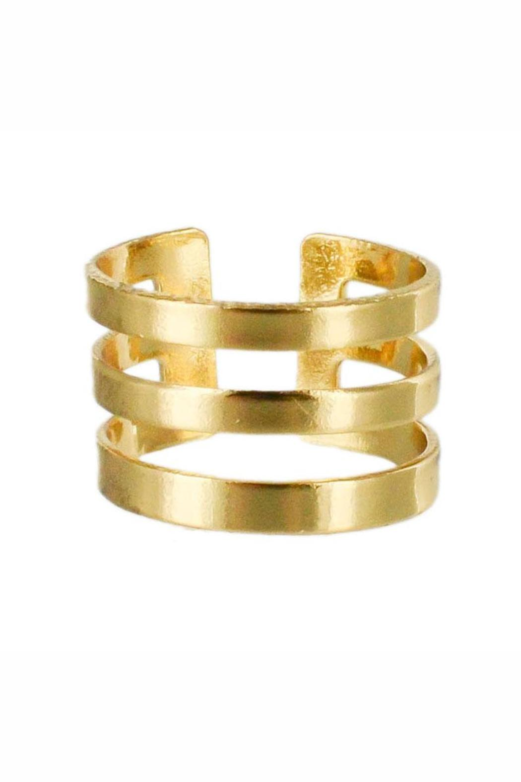 Winky Designs Stackable Stripes Ring - Main Image
