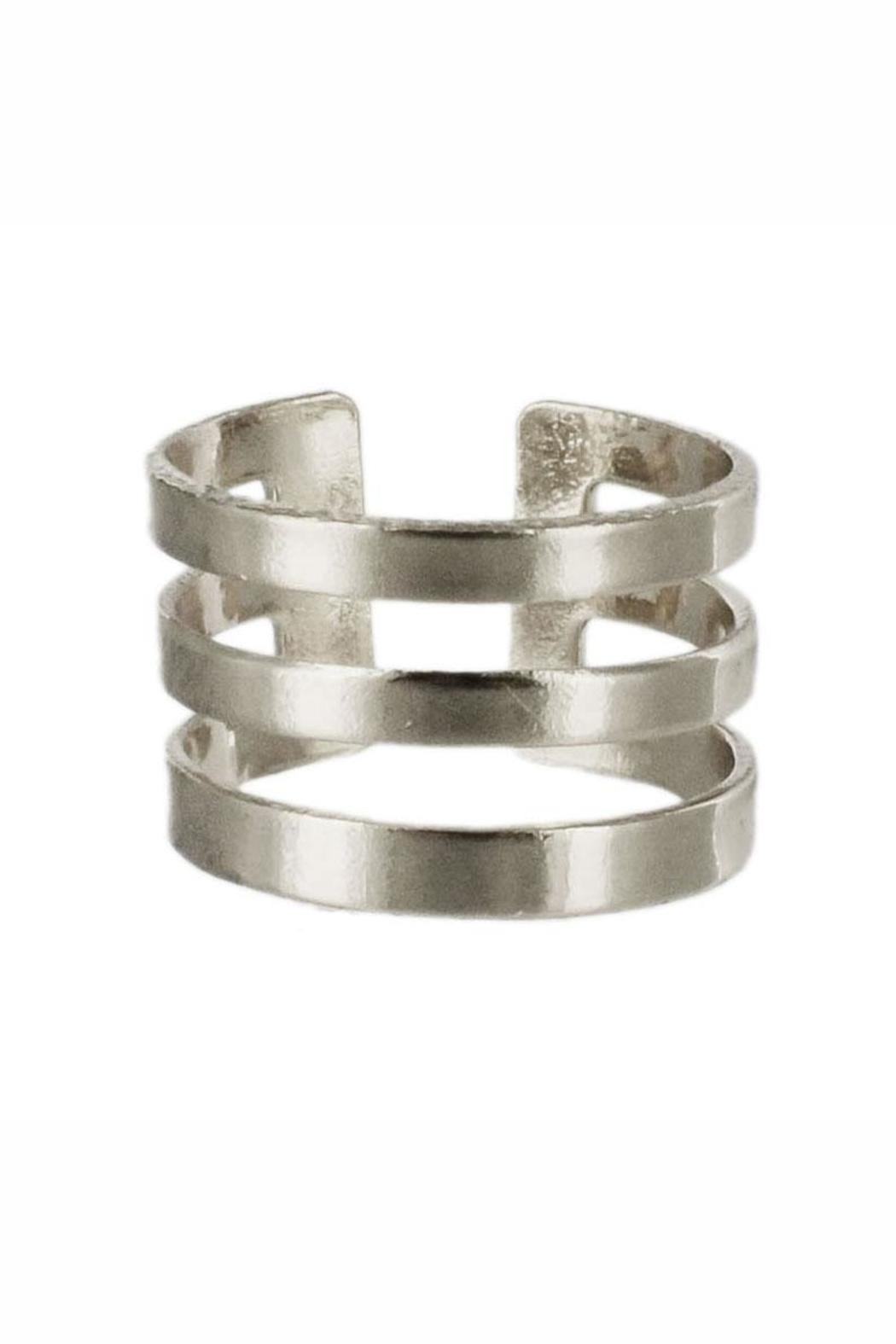 Winky Designs Stackable Stripes Ring - Front Full Image