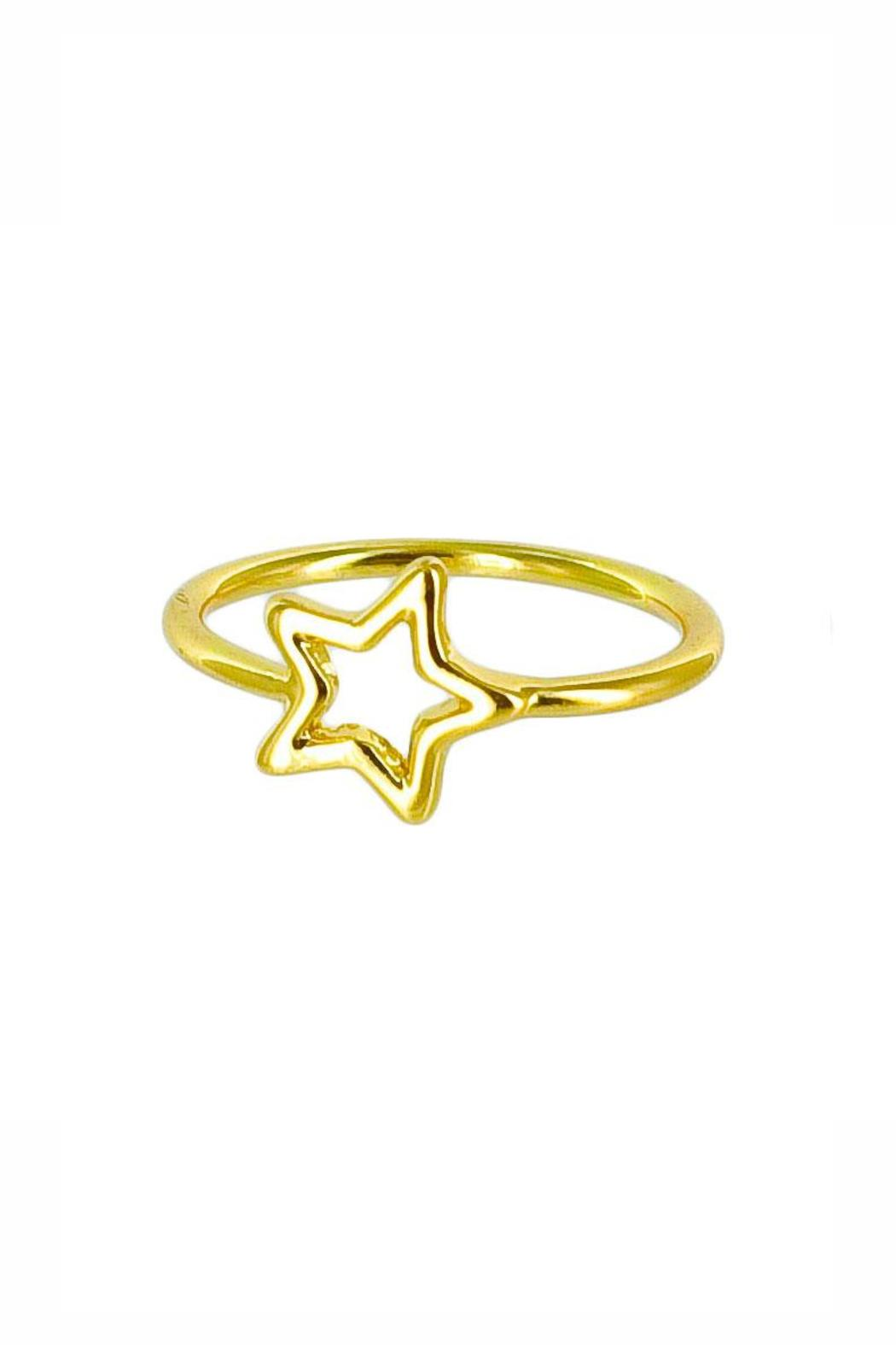Winky Designs Stars Hollow Ring - Main Image