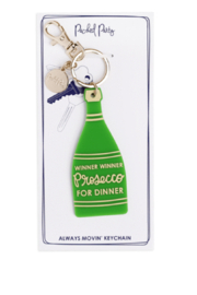 Packed Party Winner Winner Prosecco for Dinner Keychain - Product Mini Image