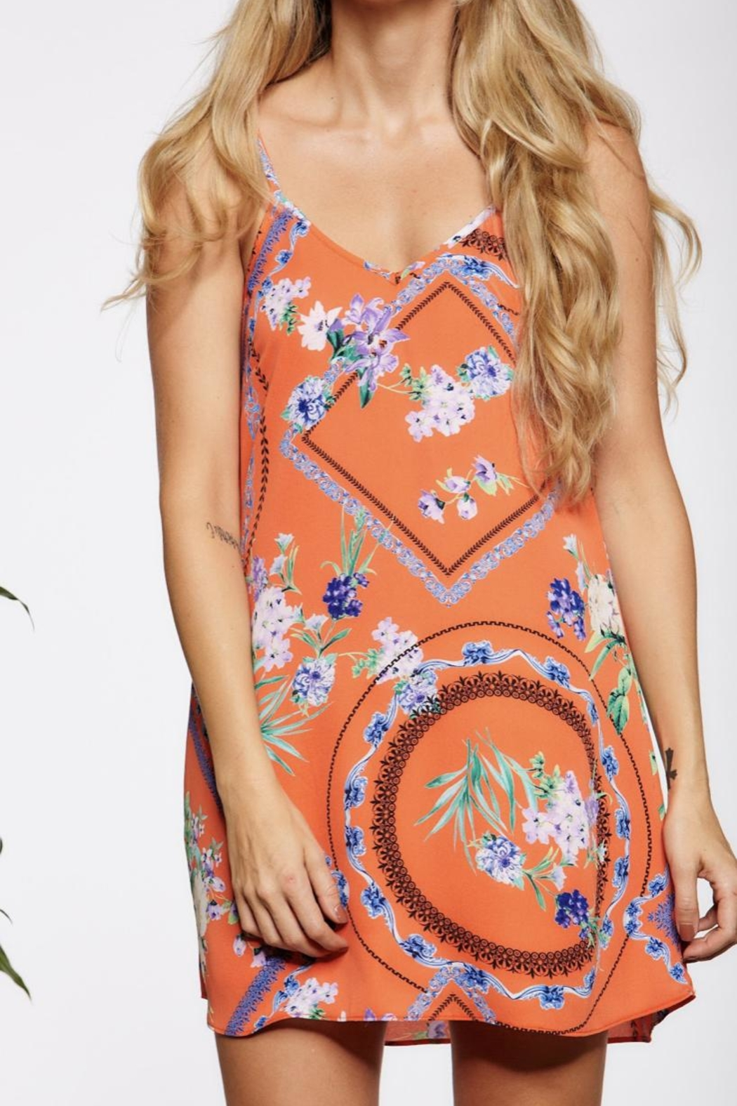 Asher by Fab'rik Winnie Dress - Front Cropped Image