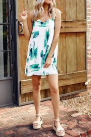 Asher by Fab'rik Winnie Dress - Green - Front cropped