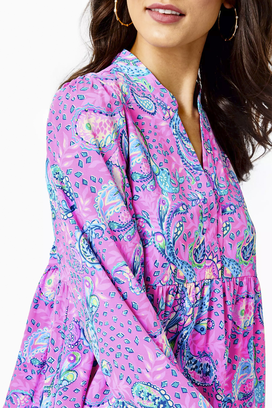 Lilly Pulitzer  Winona Stretch Dress - Back Cropped Image