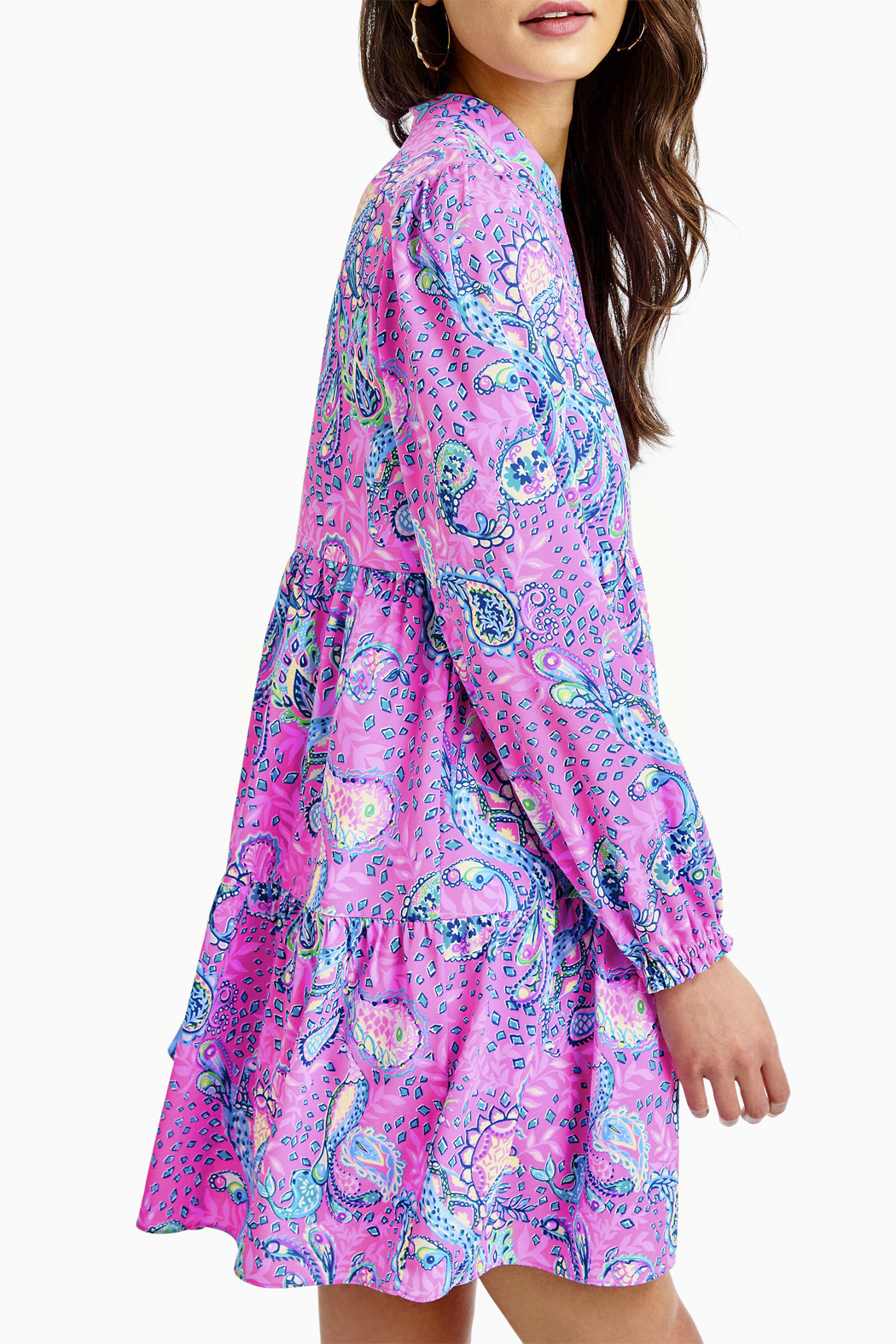 Lilly Pulitzer  Winona Stretch Dress - Side Cropped Image