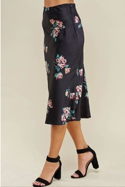 WINSLOW Floral Midi Skirt - Back cropped