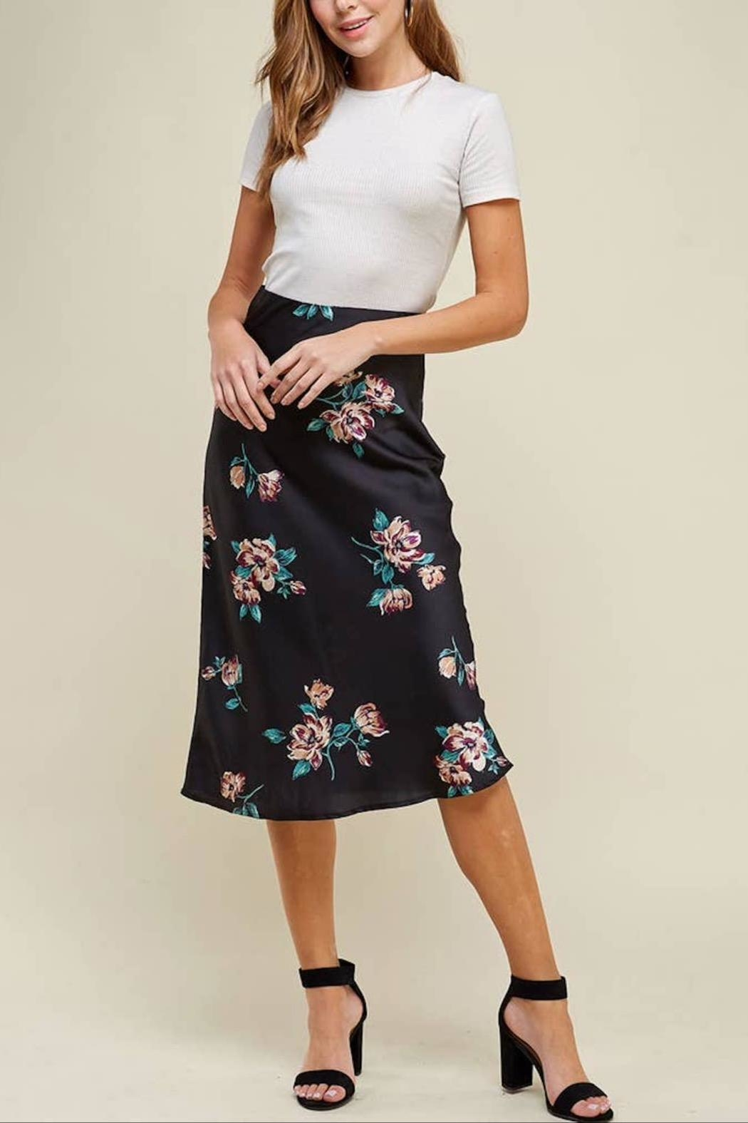 WINSLOW Floral Midi Skirt - Main Image
