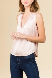 WINSLOW Silky Ruffle Top - Product Mini Image