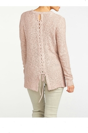 Coco + Carmen Winsome Braided Pullover - Front full body