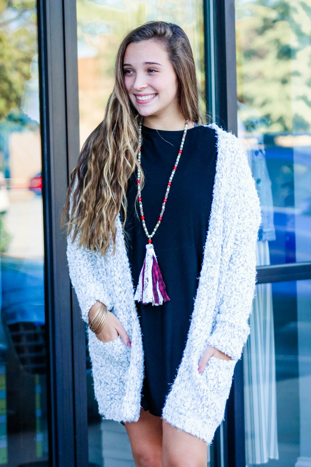 Staccato Winter Blend Cardigan - Main Image