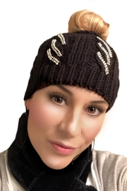 Gift Craft Winter Bun Hat - Front cropped