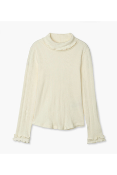 Hatley Winter Cream Turtleneck - Alternate List Image