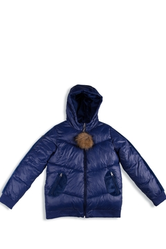 Shoptiques Product: Winter Jackets for Kids with Hoods (Padded) Light Puffer Jacket for Children all Sizes, Unisex