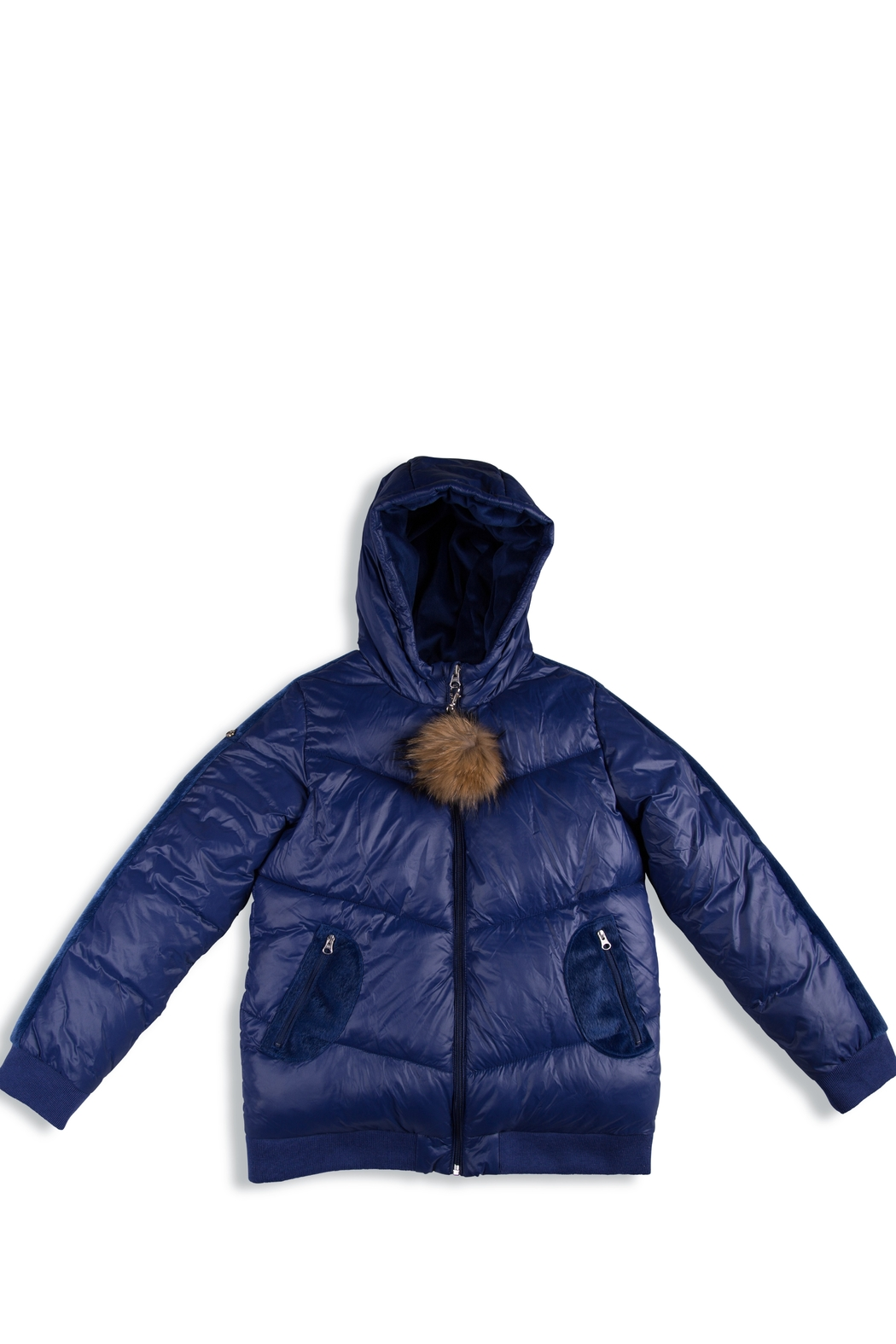 COZY COOP  Winter Jackets for Kids with Hoods (Padded) Light Puffer Jacket for Children all Sizes, Unisex - Main Image