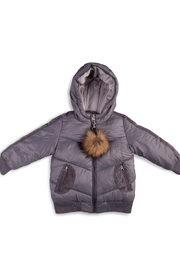 COZY COOP  Winter Jackets for Kids with Hoods (Padded) Light Puffer Jacket for Children all Sizes, Unisex - Front full body