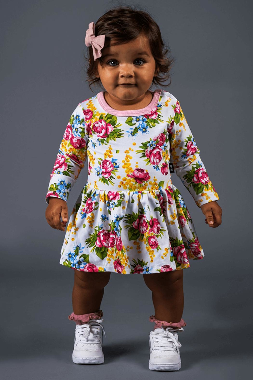Rock Your Baby Winter Magic Dress - Front Full Image