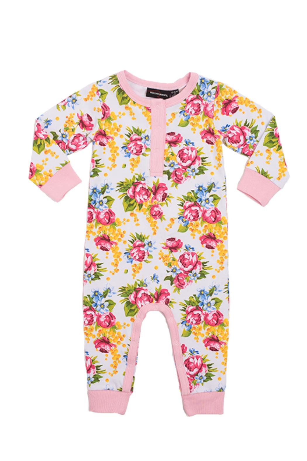 Rock Your Baby Winter Magic Playsuit - Main Image