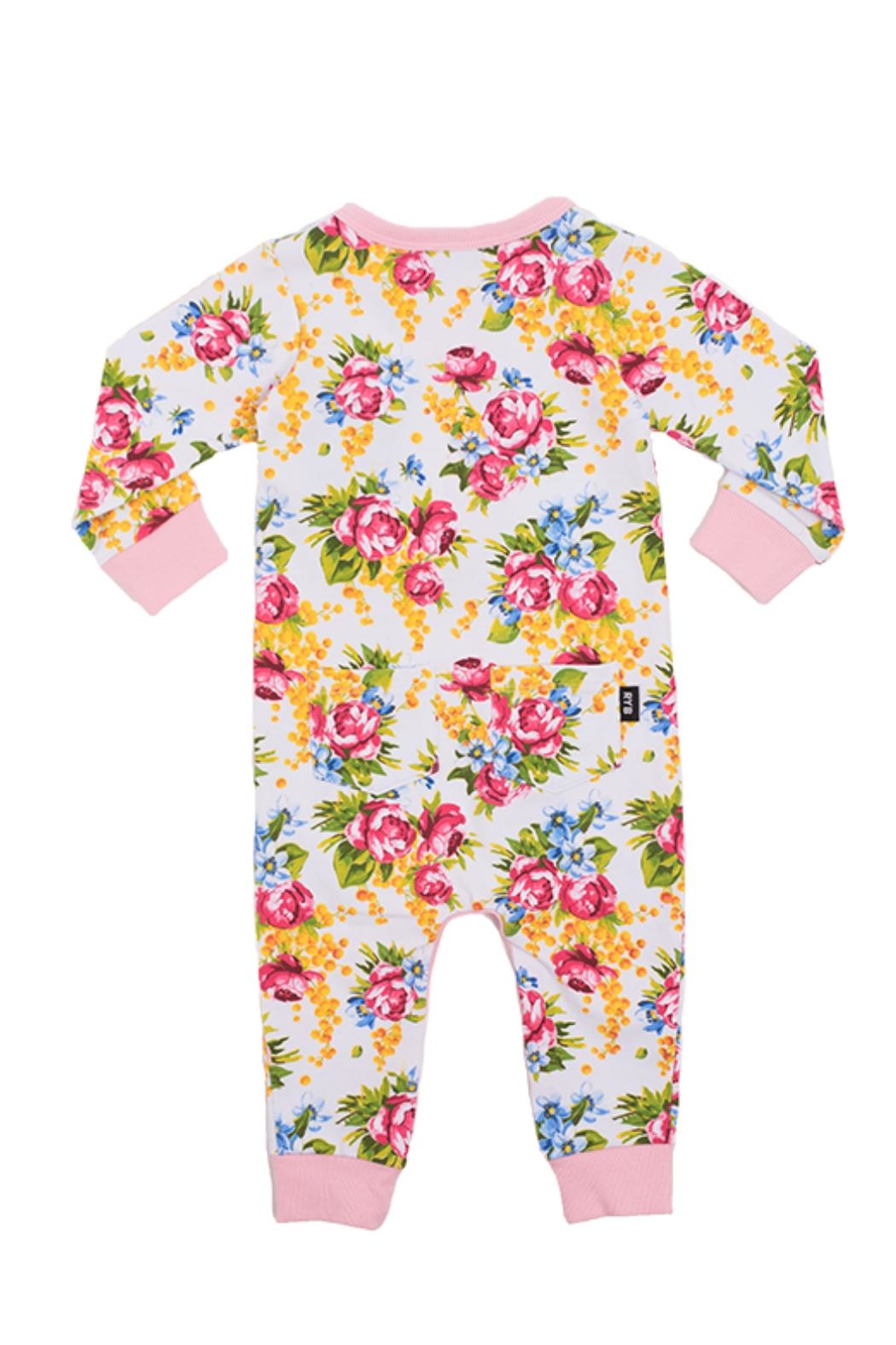 Rock Your Baby Winter Magic Playsuit - Front Full Image