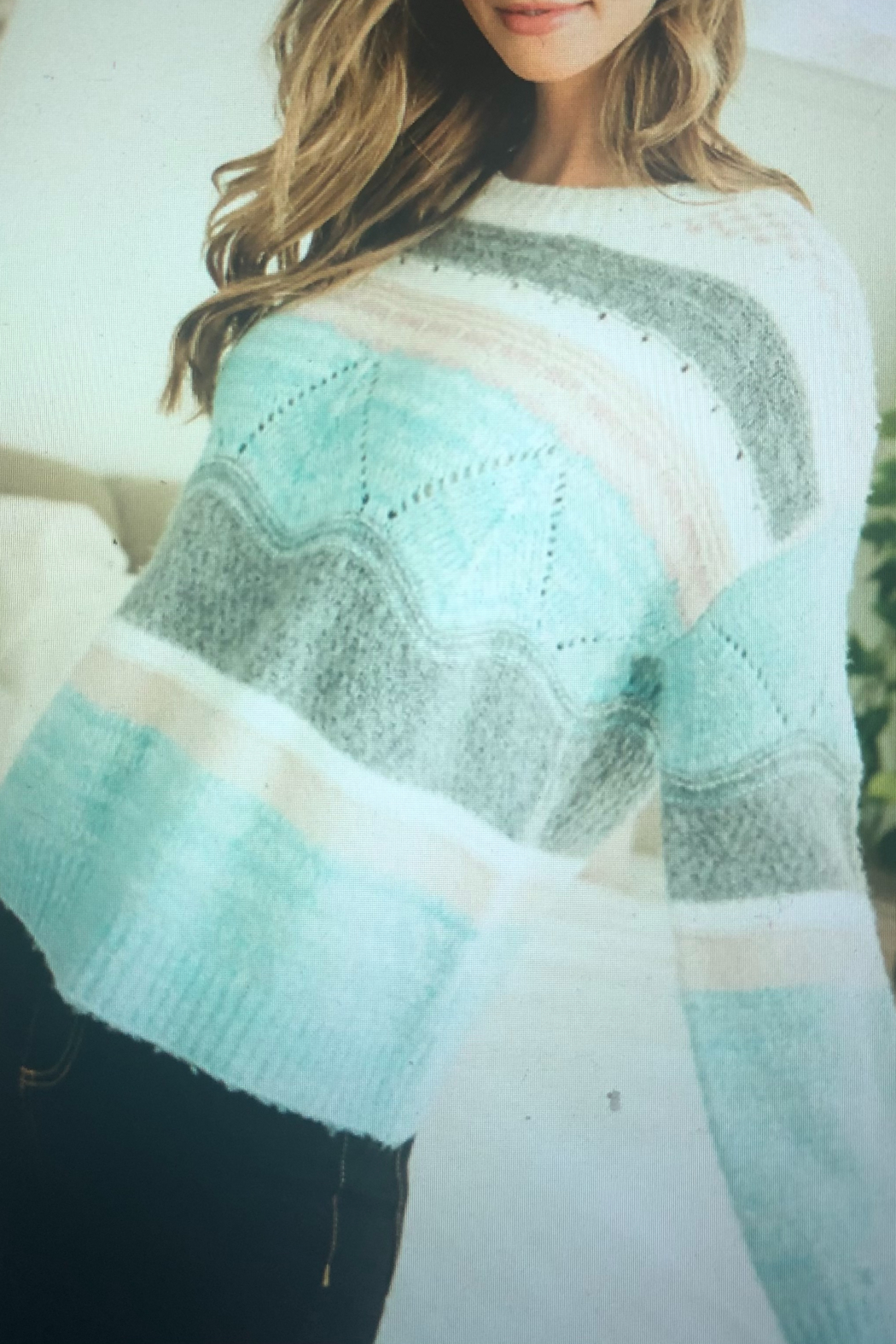 THML Clothing WINTER MINT - Side Cropped Image