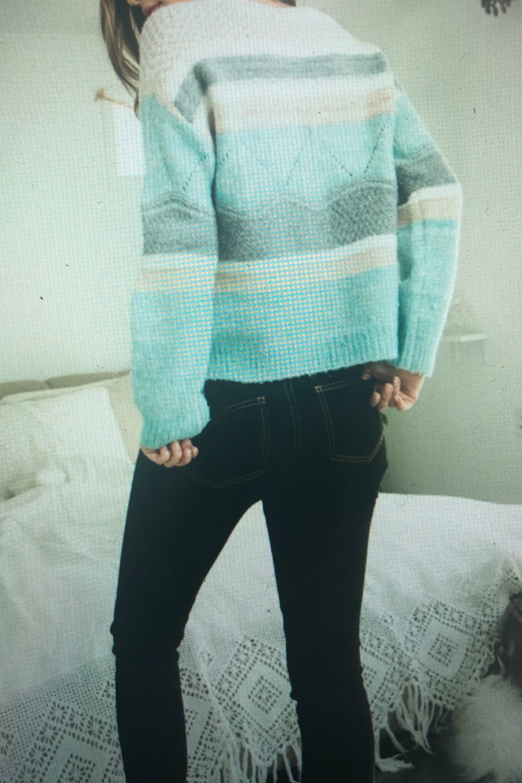 THML Clothing WINTER MINT - Front Full Image