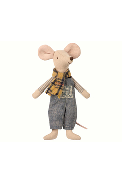 Maileg Winter Mouse, Father In Bag - Alternate List Image