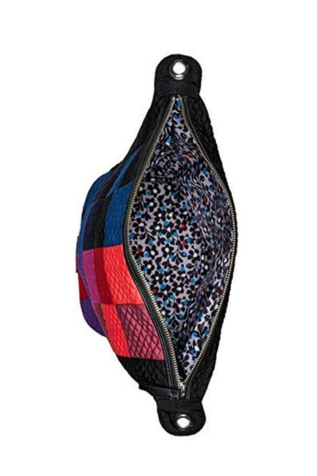 Vera Bradley Winter Patchwork Mini-Carson - Side Cropped Image