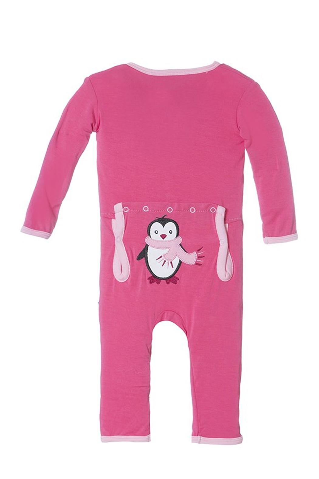 Kickee Pants Winter Penguin Coverall - Main Image