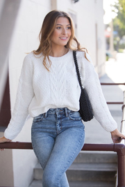 MinkPink Winter Song Knit Sweater - Product Mini Image