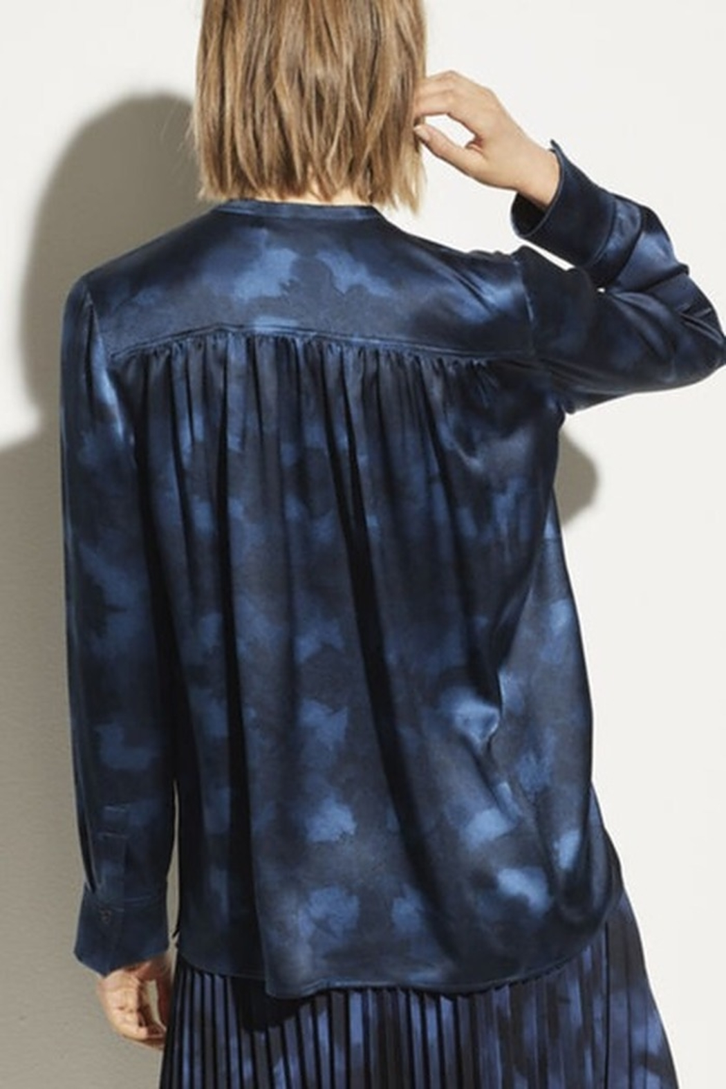 Vince Winter Tie Dye Blouse - Front Full Image