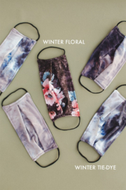 Space 46 Winter Tie Dye Face Mask - Product Mini Image