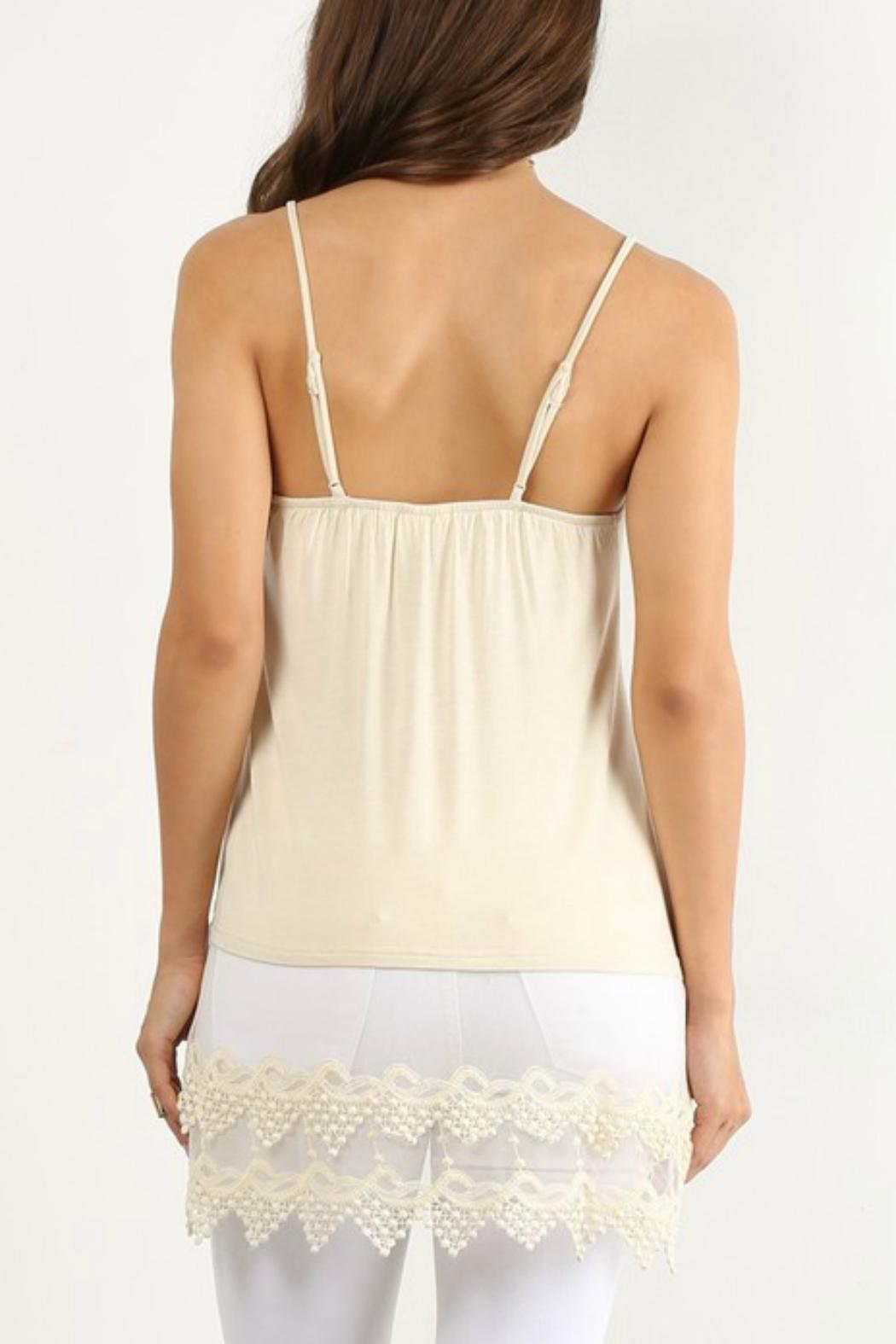Winter Lennon Pointed Top Extender - Back Cropped Image