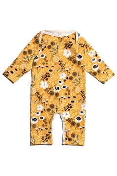 Shoptiques Product: Yellow Wildflowers Romper