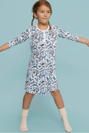 Roberta Roller Rabbit Winterland Girls Nightgown - Front cropped
